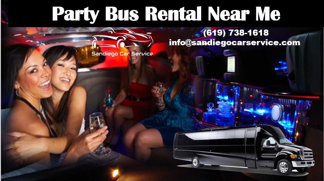 Cheap Party Bus Rental Near Me